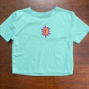 UNIF Patch Crop T-Shirt